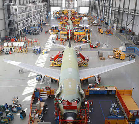 Airbus A320 production increase to 46 per month